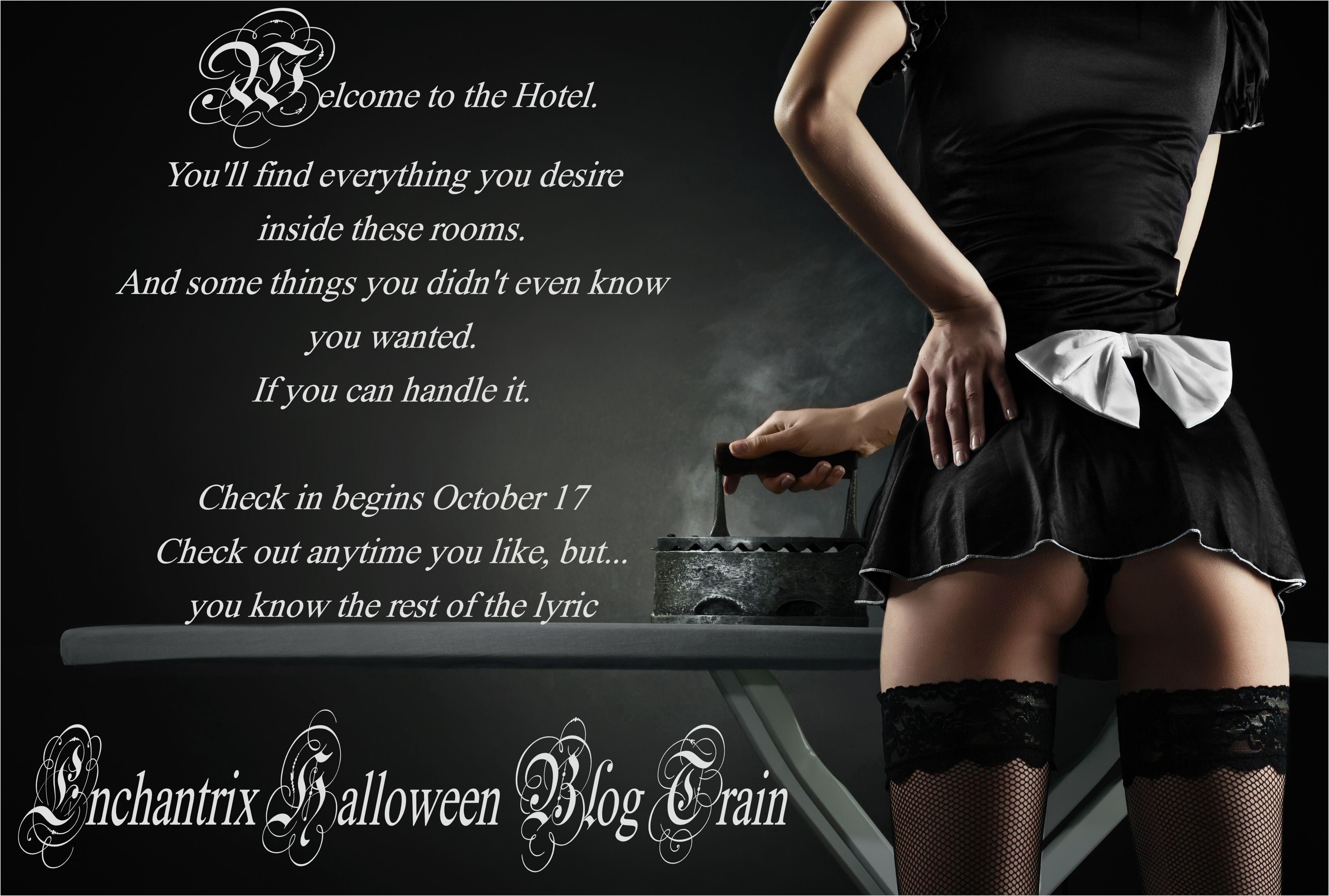 halloween blog train