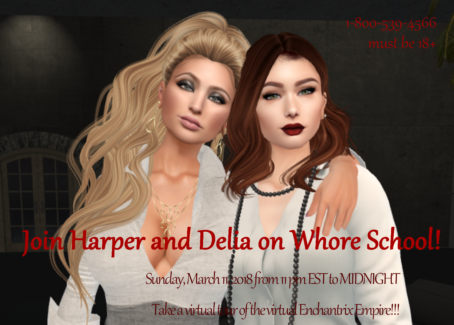 Virtual Whore School